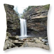 Full Flowing Throw Pillow