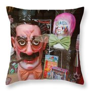 Full Marx Throw Pillow