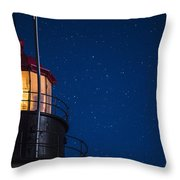 Full Moon On Quoddy No 2 Throw Pillow