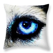 Full Moon Reflection Throw Pillow
