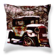 Full Of Charm Throw Pillow