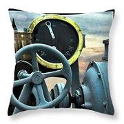 Full Steam Ahead Hmcs Haida Throw Pillow by Danielle  Parent