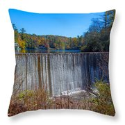 Full To Overflowing Throw Pillow