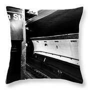 Fulton St Throw Pillow