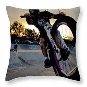 Fumanchue Throw Pillow