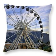 Fun In Cape Town Throw Pillow