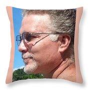 Fun On The Lake Throw Pillow