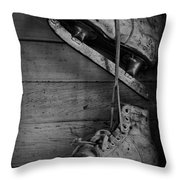 Fun With Father  Throw Pillow by Empty Wall
