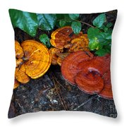 Fungi 1 Throw Pillow