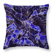 Fungi Fantasy Throw Pillow