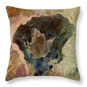 Fungoid Throw Pillow