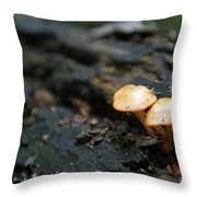 Fungus 9 Throw Pillow