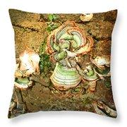 Fungus Among Us Throw Pillow