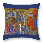 Funky Boutique Throw Pillow