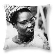 Funmilayo Ransome-kuti (1900-1977) Throw Pillow