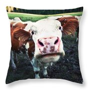Say Hi Throw Pillow