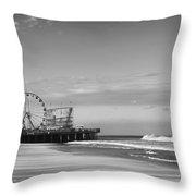 Funtown Pier Seaside Heights New Jersey  Throw Pillow