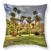 Furnace Creek Inn Throw Pillow