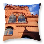 Furness Library Throw Pillow
