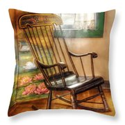 Furniture - Chair - The Rocking Chair Throw Pillow