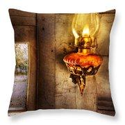 Furniture - Lamp - Kerosene Lamp Throw Pillow