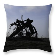 Furrow Plough Throw Pillow