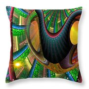 Further Up The Number Line Throw Pillow