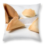 Furtune Cookie  Throw Pillow