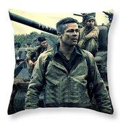 Fury  Throw Pillow