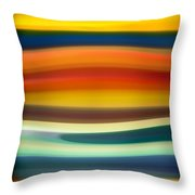 Fury Sea 1 Throw Pillow