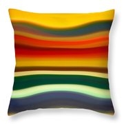 Fury Sea 2 Throw Pillow by Amy Vangsgard