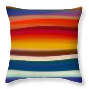 Fury Sea 8 Throw Pillow