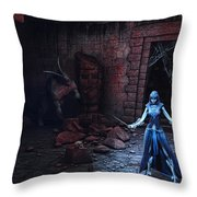 Future Of The Past Throw Pillow