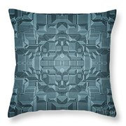 Future Sci Fi City Throw Pillow