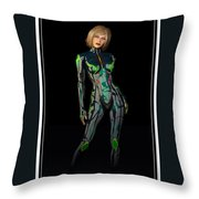 Future Woman... Throw Pillow