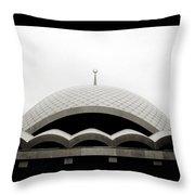 Futuristic Islamic Dome Throw Pillow