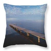 Fv2549, Mattthew Plexman Long Dock Out Throw Pillow