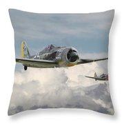 Fw 190 - Butcher Bird Throw Pillow