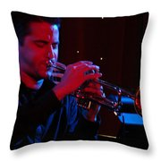 Gabriel Throw Pillow by Dana Patterson