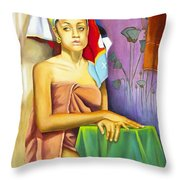 Gaby Throw Pillow