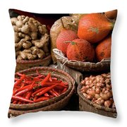 Gac Fruit 01 Throw Pillow