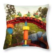 Gadget Go Coaster Disneyland Toontown Throw Pillow