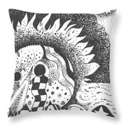 Gaining Knowledge In An Unknown Territory Throw Pillow