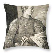 Gaius Caesar Caligula Emperor Of Rome Throw Pillow
