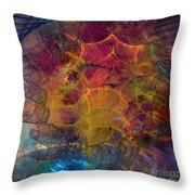 Gala Sponsor - Square Version Throw Pillow