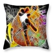 Galactic Dunk 2 Throw Pillow by David G Paul