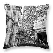 Galata Tower Entry 02 Throw Pillow