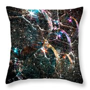 Starry Starry Night Throw Pillow