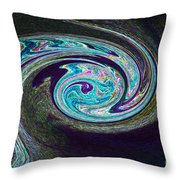 Galaxy Birth 1 Conception Throw Pillow