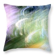 Galaxy Colors Throw Pillow